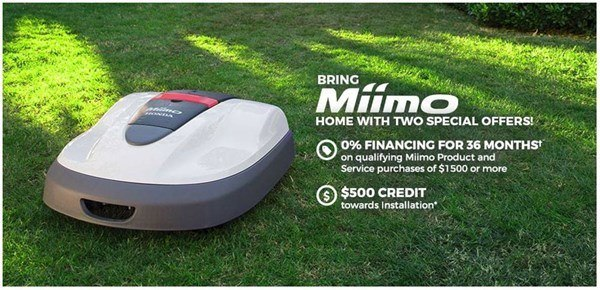 Honda Power Equipment - Bring Home Miimo with Two Special Offers